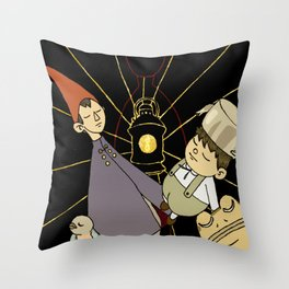 RElost in the wood Throw Pillow