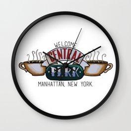 Central Perk Wall Clock