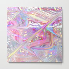 holographic Metal Print