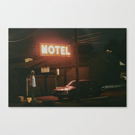 Route Canvas Print