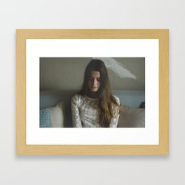 Virgin Thoughts Framed Art Print