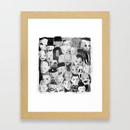 Movie Maniacs Framed Art Print