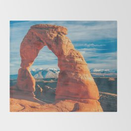 Delicate Arch Throw Blanket