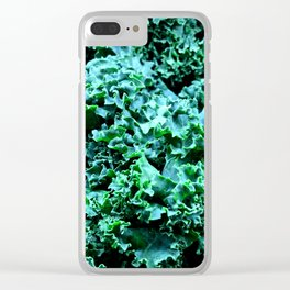 Hail to the Kale Clear iPhone Case
