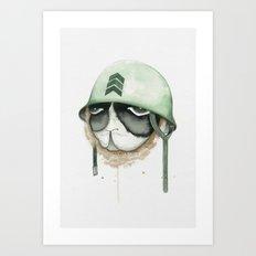 Soldier on Brave Spirit Art Print