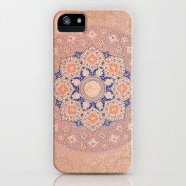 Colorful Illuminated Shamsa India iPhone Case