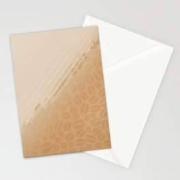 Coffee and nothing more Stationery Cards