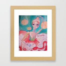The Cupcake Framed Art Print