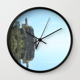 Split Rock Wall Clock