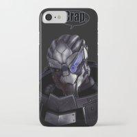 garrus iPhone & iPod Cases featuring Garrus by audelade