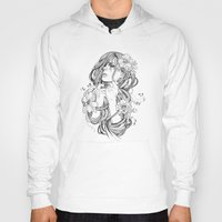 tangled Hoodies featuring From A Tangled Dream by Wendy Ortiz