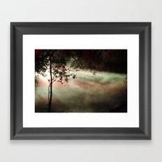 enchanted mist Framed Art Print