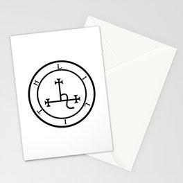 Sigil of Lilith- Female demon Lilith symbol Stationery Cards