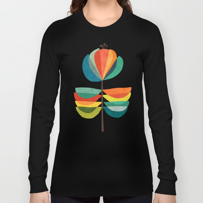 Whimsical Bloom Long Sleeve T-shirt