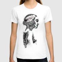 black swan T-shirts featuring Swan by JsR_OtR
