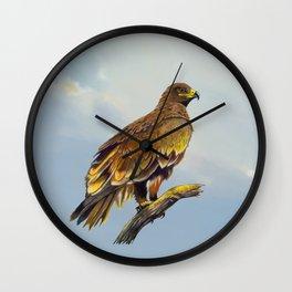Steppe Eagle Wall Clock