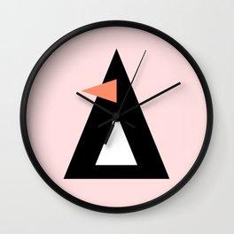 Frances the Penguin Wall Clock