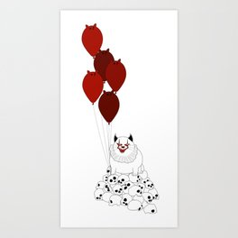 Cat IT Art Print