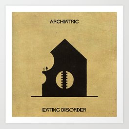 012_Archiatric_Eating disorder Art Print