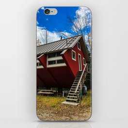 Unique Cabin in Maine iPhone Skin