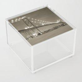 Ambassador Bridge at Night Acrylic Box