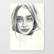 Doe Eyed Canvas Print