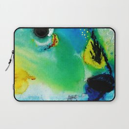 Tropical Fish 2 - Abstract Art By Sharon Cummings Laptop Sleeve