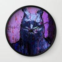 donnie darko Wall Clocks featuring Donnie Darko by brett66