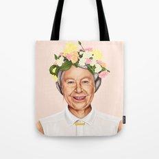 Hipstory - Queen Elizabeth Tote Bag
