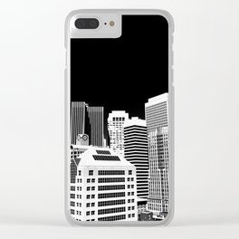SF Noir Clear iPhone Case