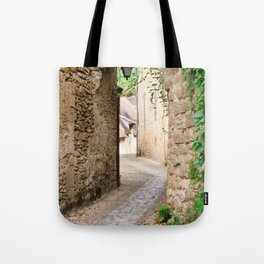 Through the Village Tote Bag