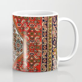 Bidjar Persian Rug Print Coffee Mug