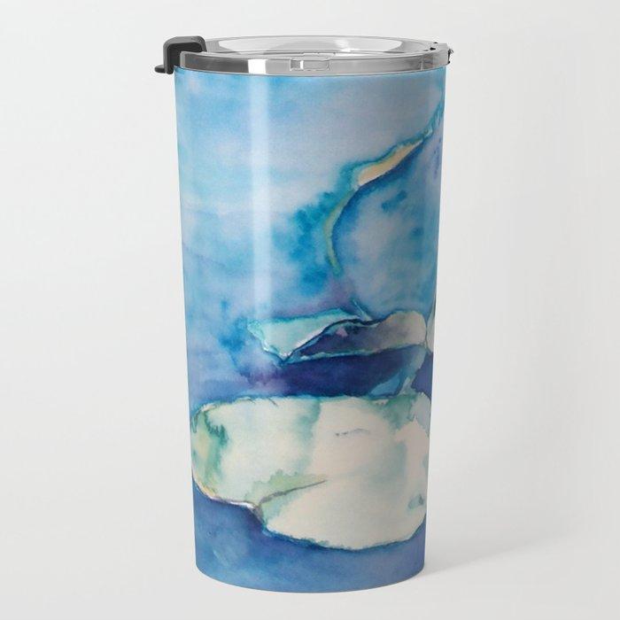 Lilly pond Travel Mug