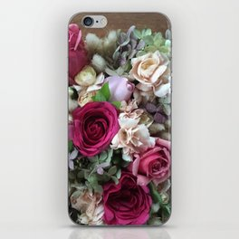 Japanese Flower Box filled with Fresh Flowers iPhone Skin