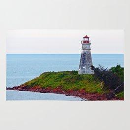 Lighthouse Cape Jourimain N-B Rug