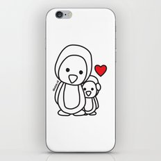 Penguin Sweetness iPhone & iPod Skin