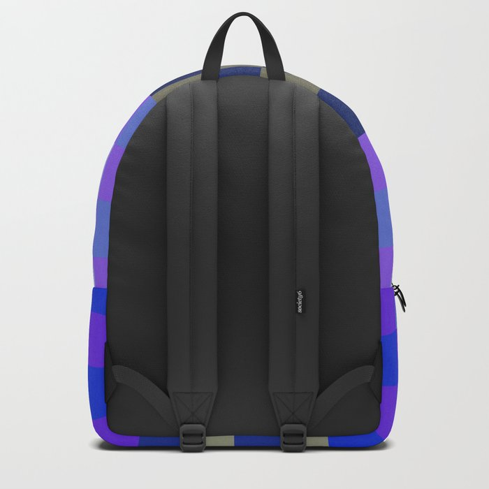 Blue Sky With A Cloud In Pixel Backpack