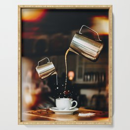 Pour Me Some Coffee Please Serving Tray