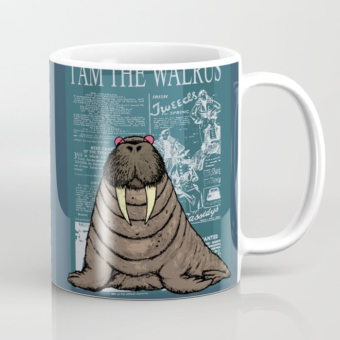 I Ikarpov The Coffee Walrus Am Mug By xeCBodrW