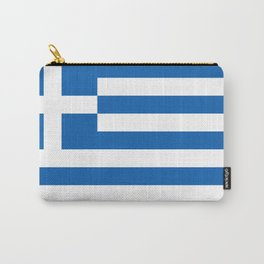 Flag of Greece, High Quality image Carry-All Pouch
