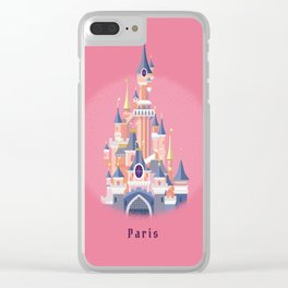 Paris Disneyland Castle Clear iPhone Case
