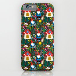 Gnome Home iPhone Case