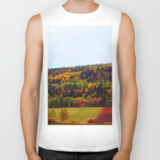 Fall Harvest and the Hills Biker Tank