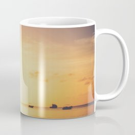 Sunset drumming Coffee Mug