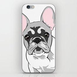 Jersey the French Bulldog iPhone Skin