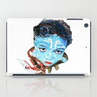 hindu iPad Cases featuring Hindu Boy by Cristian Blanxer