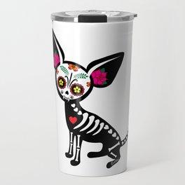 Chihuahua Muerta Travel Mug