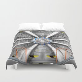 The Large Hadron Collider Duvet Cover