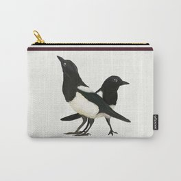 Two For Joy - Magpie Pair Carry-All Pouch