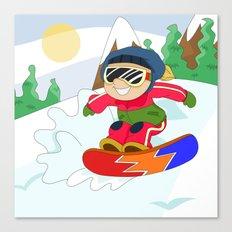Winter Sports: Snowboarding Canvas Print